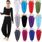 Women Harem Yoga Pants Belly Dance Aladdin Hippie Baggy Jumpsuit Trousers Q