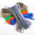 550 Paracord Parachute Cord Lanyard Mil Spec Type III 7 Strand Core 25 50 100 FT