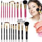 10 Stücke Bürste Schminkpinsel Pinselset Kosmetik Pinsel Make Up Brush JTOO