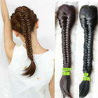 Cosplay Classical Women Hair Extension Braided Ponytail Drawstring Hairpiece