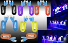 Premium Smiley LED Heavy Duty Data Sync Charging Flat Universal USB Cable Cord