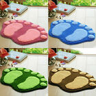 Reliable Absorbent Soft Big Feet Bathroom Floor Shower Mat Rug Non-slip