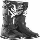 2016 FLY RACING BLACK MAVERIK MENS ADULT MX BOOTS RIDING RACING MOTOCROSS ATV