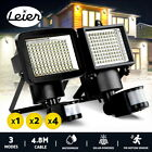 60 100 120 LED Solar Sensor Light Outdoor Security Floodlights Motion Garden