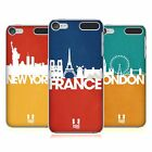 HEAD CASE DESIGNS SKYLINE SERIE 2 COVER RETRO PER APPLE iPOD TOUCH MP3
