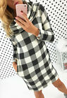 Women Sweatershirt Dress Long Sleeve Tops Ladies Hoodie Jumper Sweater T9035