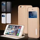 New Luxury Leather Ultrathin Flip Case Stand Cover For Apple iPhone 5s 6 6s Plus