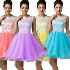 Quinceanera Prom party Dress Short Lace Wedding Gown Bridesmaid Cocktail Dresses
