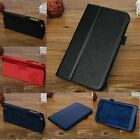 Slim Thin Litch Pattern Folio Book Flip Leather Hard Case Cover Stand For Tablet