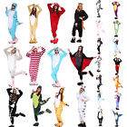 Mens Ladies Onesie Adult Animal Unisex Onsie Kigurumi Pyjamas Pajamas Sleepwear