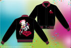 "Betty Boop Jacket Biker Motorcycle Club Reversible Youth Junior Miss ""BLOWOUT"" $47.99 USD"