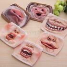 3D Expression Cycling Unisex Anti-Dust Cotton Mouth-Muffle Face Mask Respirator