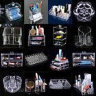 Clear Display Storage Acrylic Drawer Display Box Makeup Tool Organizer Case Xmas