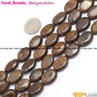 """New Oval Bronzite Gemstone Jewelry Making Loose Beads Strand 15"""" Selectable Size"""
