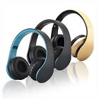 Wireless Bluetooth Stereo Headphone Earphone Headset For Samsung For Iphone