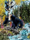RIVERSIDE PLAYTIME -PRINTED X STITCH CHART 14/18 CT ARTWORK © STEVEN GARDNER