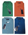 Ralph Lauren Purple Label Mens Italy Solid Blue Orange Green Button Dress Shirt