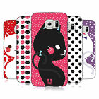HEAD CASE DESIGNS CATS AND DOTS HARD BACK CASE FOR SAMSUNG PHONES 1