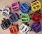 "Wellgo Alloy Pedals MTB BMX DX Type Boron Axle 1/2"" & 9/16"" Mountain Bike Cycle"