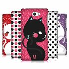 HEAD CASE DESIGNS CATS AND DOTS HARD BACK CASE FOR SONY PHONES 4