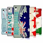 HEAD CASE DESIGNS FLAGS AND LANDMARKS HARD BACK CASE FOR SONY PHONES 2
