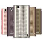 HEAD CASE DESIGNS SCARF INSPIRED HARD BACK CASE FOR SONY PHONES 3