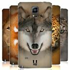 HEAD CASE DESIGNS ANIMAL FACES 2 REPLACEMENT BATTERY COVER FOR SAMSUNG PHONES 1