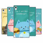 HEAD CASE DESIGNS CURIOUS CATS SOFT GEL CASE FOR SONY PHONES 2