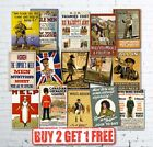 A4 Vintage High Quality Allied WW1 World War I Propaganda Military Posters Retro
