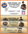 MIKE PIAZZA METS 2016  HALL OF FAME BAT