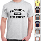 grabmybits - Property Of My Girlfriend T Shirt - Valentines Gift, Day, Funny Tee