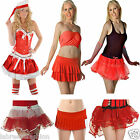 New Ladies Girls Valentine's day Red Tutu Skirts Fancy Dress Costume