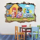 Doc Mcstuffins Smashed Wall Decal Removable Graphic Wall Sticker Disney H186