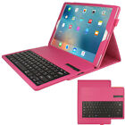 PU Leather Detachable Bluetooth Keyboard Case + Stand for Apple iPad Pro (12.9