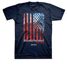 Kerusso God Shed His Grace On Thee Patriotic Adult SS T-shirt
