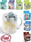 Fred Silicone Tea Infusers - Various Fun Novelty Designs