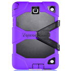 Rugged Hybrid Hard Case Cover + Stand For Samsung Galaxy Tab A 8 inch SM-T350