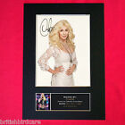 CHER Autograph Mounted Photo REPRO QUALITY PRINT A4 224