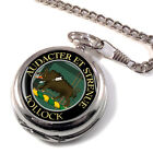 Pollock Scottish Clan Pocket Watch