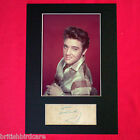 ELVIS PRESLEY Autograph Mounted Photo REPRO QUALITY PRINT A4 70
