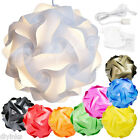 Infinity Puzzle Light Shade 30 piece Modern IQ Jigsaw DIY Decoration Lamp Cord