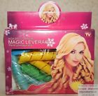 12 Hair curlers Magic Magic Leverag+1 Stem with Extension Vu with la Tv Kdo