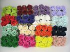 36 x 6cm Colourfast Artificial Foam Rose. Wedding/Craft Flowers 6 bunches of 6