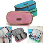 Student Stationery Canvas Pen Pencil Case Cosmetic Travel Makeup Bag Box Pouch