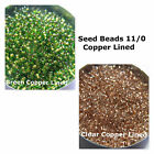Seed Bead 11/0 Copper Lined Spacer Bead Jewelry Loose Beads
