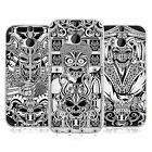 HEAD CASE DESIGNS JAPANESE DEVIL MASK BLACK AND WHITE GEL CASE FOR HTC ONE M8