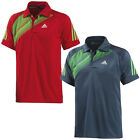 adidas Performance Mens Atake Climalite Table Tennis Polo Shirt - Red / Blue