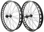Alex Blizzerk 80 Thru-Axle 15x150 Front & 12x197 Rear Fat Bike Wheelset XD /10s