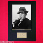 HUMPHREY BOGART Mounted Signed Photo Reproduction Autograph Print A4 23