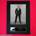JASON STATHAM Signed Autograph Mounted Photo RE-PRINT A4 182